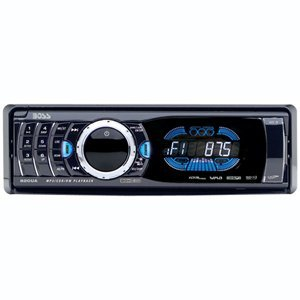 Boss 820UA In-Dash CD/MP3 Receiver with Front Panel AUX Input, USB, SD Card