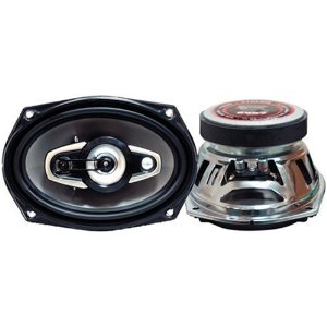 Pyramid 6987 6-Inch x 9-Inch 4-Way Chrome Speakers