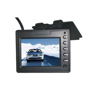 New! 3.5 inch car roofmount down flip tft lcd monitor