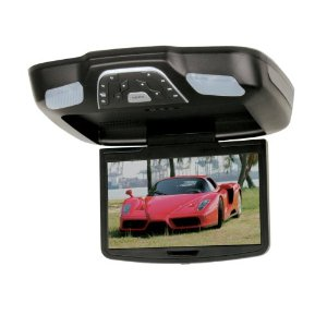Boss Audio BV8.5BA Flip-Down 8.5-Inch Widescreen TFT Monitor with Built-In DVD Player (Black)