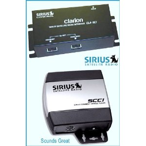 Complete Sirius Radio System for Satellite Ready CLARION Receivers CLA-SC1 + SCC1