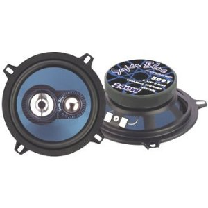 Pyramid 5091 5.25-Inch 240 Watts ThreeWay Speakers