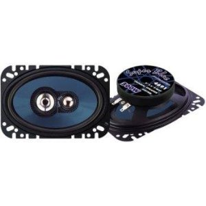 Pyramid 4691 4-Inch x 6-Inch 300 Watts ThreeWay Speakers