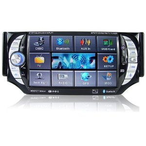 Car Stereo AV System with Bluetooth (1-DIN)