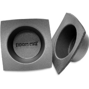 Boom Mat 5-1/4-inch Speaker Baffles Protect your speakers Regular and slim-line sizes Slim-line: 2-1/2
