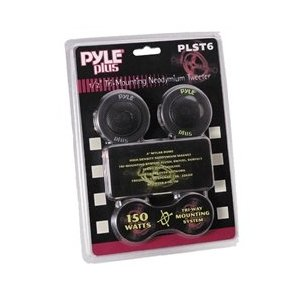 PYLE PLST6 1/2-Inch 150 Watt Mylar Dome Tri-Mount Tweeter