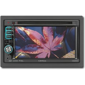 Kenwood DDX512 6.1-Inch-Wide In-Dash Monitor with USB/iPod Direct Control/DVD Receiver