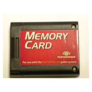 Performance Memory Card for Nintendo 64
