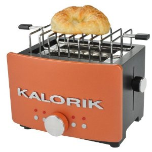 Kalorik TO-25244 Aztec 850-Watt 2-Slice Toaster with Bun-Warming Rack