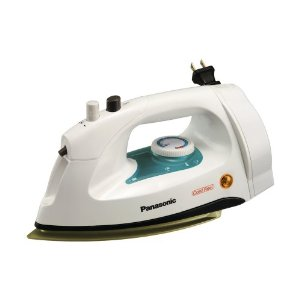 Steam Iron with Automatic Retractable Cord Reel and Non-Stick Coating