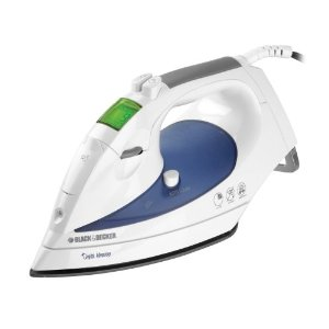 Black & Decker D1200 Digital Advantage Iron, White
