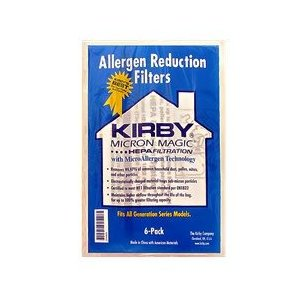 Kirby Generation 3,4,5,6, Ultimate G and Sentria HEPA Bags PKG of 6