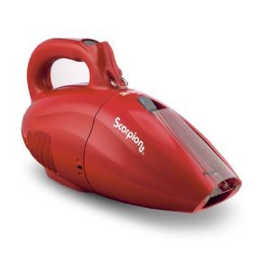 Dirt Devil SD20005RED Scorpion Quick Flip 7 AMP Hand Vac - RED