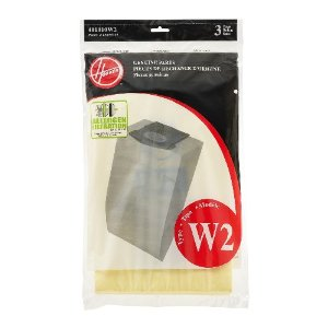 Hoover Type W2 Allergen Filter Bag - Part #401010W2