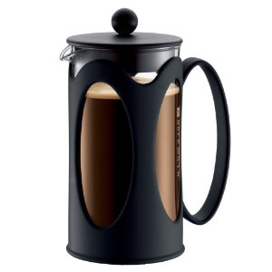 Bodum New Kenya 34-Ounce Coffee Press, Black