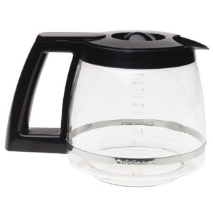 Cuisinart DCC-12PBRC 12 Cup Replacement Carafe-Black