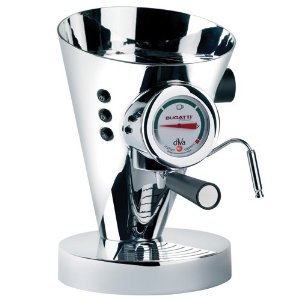 Bugatti Diva 15-Bar Pump Espresso Machines