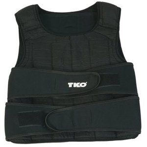 TKO 244WV Adjustable 40-Pound Weighted Vest