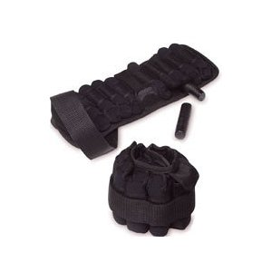 SPRI PL-AWW5R 5lbs. Pro Line Ankle/ Wrist Weight Pair