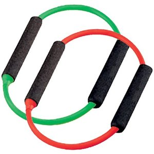 SPRI ES541R Green and Red Xerings (Medium and Light Resistance)
