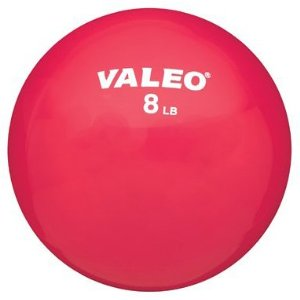 Valeo WFB8 8 lb. Weighted Fitness Ball (8 lb)