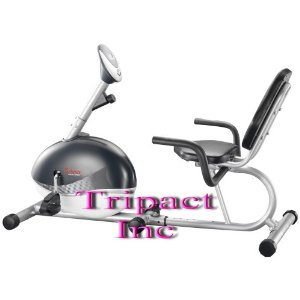 Seen on TV New Sunny Exercise Megnetic Recumbent Fitness Bike Selling No:1 (Heavy Duty)