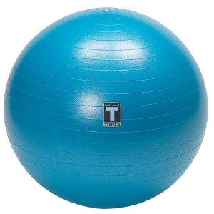 Body Solid Tools BSTSB75 75cm Exercise Ball (Blue)