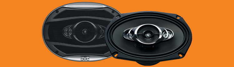 Jvc cshx6947x car speakers 6x9 inches 4way coaxial