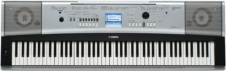 Yamaha dgx530b keyboard full size 88note touch sensitive