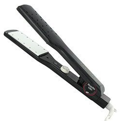 T3 Wide Wet or Dry Singlepass Tourmaline Hair Iron 1 3/4