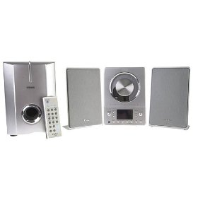 Remanufactured Teac CD-X8 Wall-Mountable Micro CD System with Subwoofer