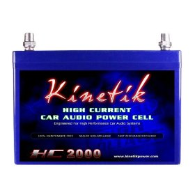 Kinetik HC2000 - 2000 Watt 12 Volt Power Cell Battery