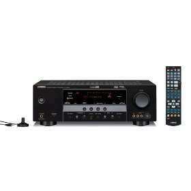 Yamaha HTR-6040BL 5.1-Channel Digital Home Theater Receiver (Black)