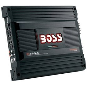 Boss Audio D250.4 Diablo 4-Channel Mosfet Bridgeable Power Amplifier