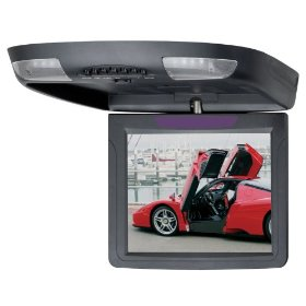 Boss Audio BV10.4FB 10.4-Inch Flip Down Monitor with Built-In Infrared Transmitter (Black)