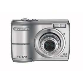 Olympus FE-170 6MP Digital Camera with 3x Optical Zoom