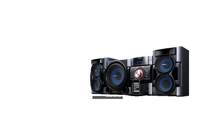 Sony mhcec99i home stereo 530w pc in ipod dock