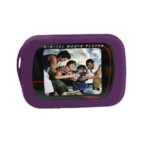 Sylvania 2GB Video MP3 Player with Full Color Screen (Purple)
