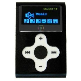 Visual Land V-Clip 2 GB LCD/MP3/WMA/Voice Recorder/FM Radio (Black)