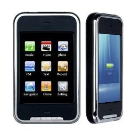 8 GB Video MP3/MP4 Player with 2.8-inch TFT Touchscreen