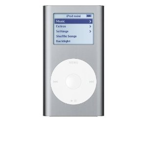 Ipod Mini Silver 4GB 2nd Generation