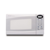 Sharp r230kw white microwave .8cf 800 turntable digital
