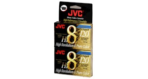 Jvc p6120hmpjh2 hi8mm tape 2pack