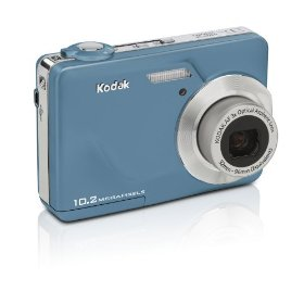 Kodak EasyShare C180 10MP Digital Camera with 3x Optical Zoom and 2.4 inch LCD (Teal)