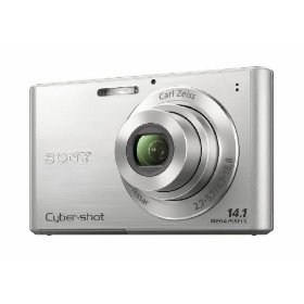 Sony DSC-W330 14.1MP Digital Camera with 4x Wide Angle Zoom with Digital Steady Shot Image Stabilization and 3.0 inch LCD (Silver)