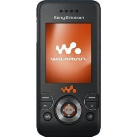 Sony Ericsson W580i Unlocked Quadband Phone (Black)