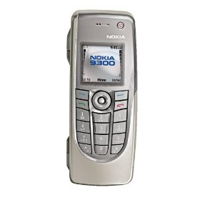 Nokia 9300 Unlocked Smartphone with MP3/Video Player, MMC--U.S. Version with Warranty (Silver)
