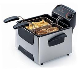 Presto 05466 steel deep fryer dual basket