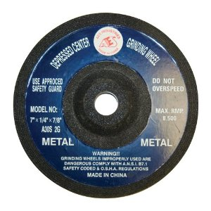 Depressed Center Grinding Wheel - 7