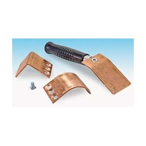 Welders Helper 3X3 Copper Spoon Set Flat/Curve/Angle
